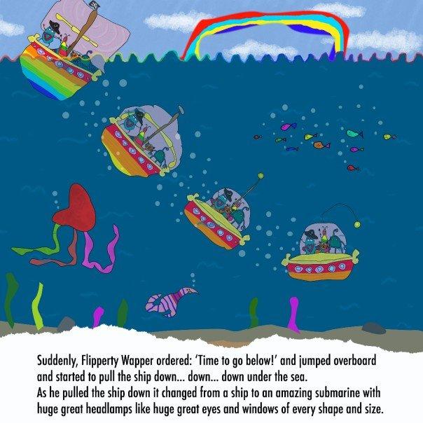 vicky playground storybk page